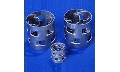 Metal Pall Ring For Metallic Tower Packing