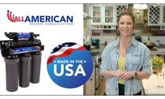 The All American Reverse Osmosis System - Video