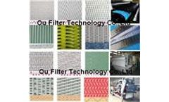 Dewatering Belts / Dehydrates filter fabrics, polyester filter belt