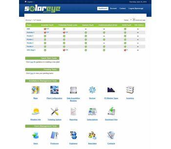 SolarEye - PV Solar Plant Monitoring Web Platform