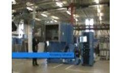 Electrodynamic Shaker: Horizontal to Vertical Movement Video