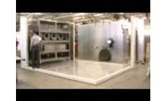 Panel Walk-In Environmental Test Chamber Assembly Video
