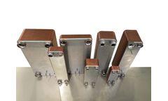 VAU - Model EXEL - Brazed Plate Heat Exchanger for Refrigeration