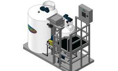 PEWE - Model PolyAccu Dose - Dry Polymer Feeder System