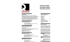Quadex Structure Guard Epox Technical Data Sheet