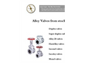 The-Alloy-Valve-Stockist-Alloy Catalogue