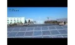 Solar Roof Mounting System Video