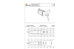 Model TBM-TBMex SERIES - Submersible Horizontal Mixer Brochure