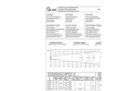 Model AF Series - Submersible Horizontal Flow Accelerator Brochure