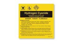 Hydrogen Cyanide Label