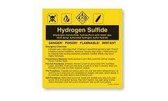 Hydrogen Sulfide Label