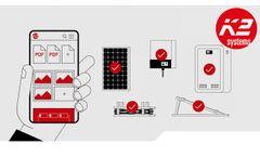 K2 DocuApp (EN): Simply documenting a PV system - Video