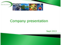Biosensor - Company Presentations