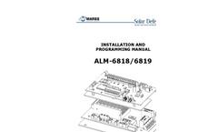 Model ALM-6818/6819 - Programming Installation Manual