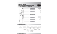 Model OCDL Series - Open Channel Diffuser Datasheet