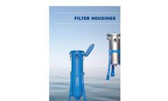 Model ESBF-200 - Single Bag Filters Brochure