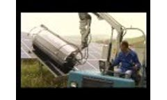 Roboklin 25 - MESSERSÌ for the Cleaning and the Maintenance of the Fields Photovoltaic Video