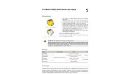 Model QT50U Series - Long Range Ultrasonic Sensors  Brochure