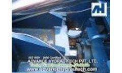 Scrap Baler - Auto Door (AH-006) Video