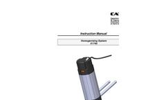 Model X1740 - High Power Homogenizer Drive - Instruction Manual
