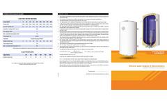 Electric Water Heaters Brochure
