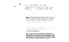 Environmental Coordination and Environmental Management Services