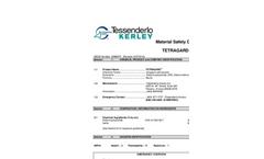 Tetragard - Sodium Polysulfide Solution Material Safety Datasheet