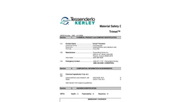 Trimet - Sodium Trithiocarbonate Solution Material Safety Data Sheet