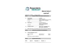 Captor - Calcium Thiosulfate Solution Material Safety Datasheet