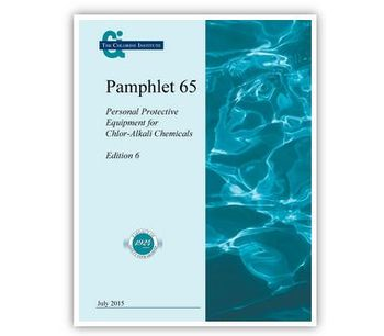 Pamphlet 65 Personal Protective Equipment for Chlor-Alkali Chemicals