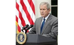 Bush removes executive ban on offshore oil drilling
