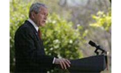 Bush announces new CO2 emission target