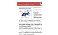 Ozonator Industries Ltd. Abstract 2016 Brochure