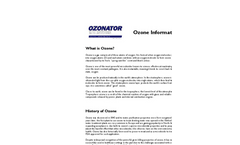 What is Ozone? - Information Brochure