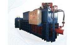Nantong - Model MZD160 - Hydraulic Waste Paper Baling Press Machine
