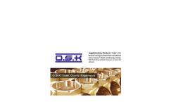 Bronze Union Conical Seat Brochure