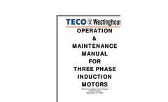 Operation & Maintenance Manual For Three Phase Induction Motors