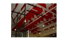 HUSH BAFFLE - Ceiling and Sound Absorbers