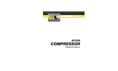 AC205 - 4 Gallon Hand Carry Compressor Brochure