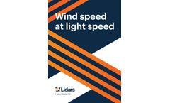 ZX - Model TM - Turbine Mounted wind Lidar - Brochure