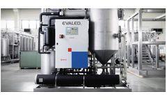 EVALED - Model PC F Series - Heat Pump Forced Circulation Vacuum Evaporators