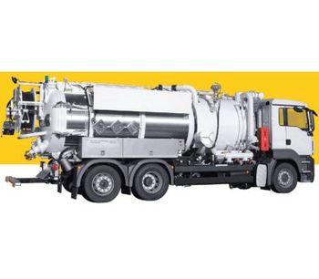 KOKS - Model ECOVAC COMBI - Vacuum-Jetting Truck