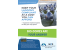 Bio-Domes for Small Municipalities for Industrial Wastewater Treatment Brochure