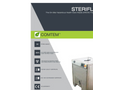 Steriflash - Model ST 30 - On-Site Medical Waste Treatment System