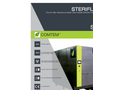 Steriflash - Model St 500 - On-Site Medical Waste Treatment System
