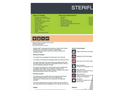 Steriflash - Model St 2000 - On-Site Medical Waste Treatment System
