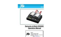 Demi - Model XG3020 - Hard Drives - Manual