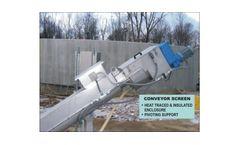 WTP - Conveyor Screens