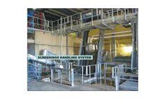 WTP - Screenings Washing Dewatering Press