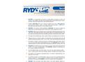 RYDLYME - Biodegradable Descaler - Specifications